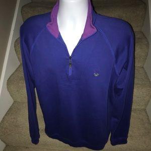 Bobby Jones 1/4 zip soft men's casual golf sweater